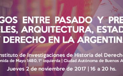 Diálogos entre pasado y presente. Cárceles, Arquitectura, Estadística y Derecho en la Argentina.